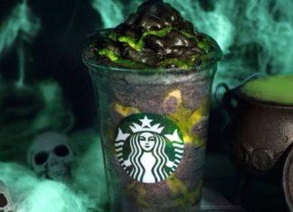 Starbucks Now Has Vegan Black Whipped Cream Phantom Frappuccinos for Halloween