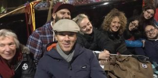 Benedict Cumberbatch Joins Extinction Rebellion's Climate Protests In London