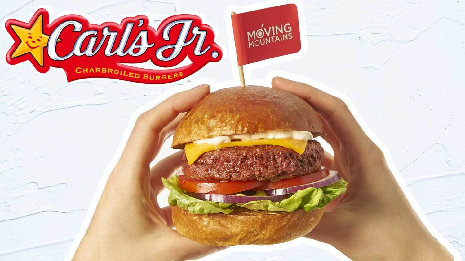 Carl's Jr. Just Launched Vegan Burgers In Europe