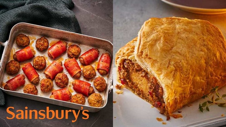 Sainsbury's Is Launching a Meaty Vegan Christmas Range