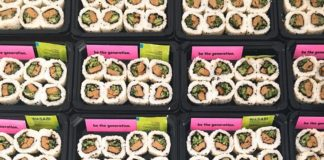 You Can Now Get Vegan Crab Sushi Rolls at Spar