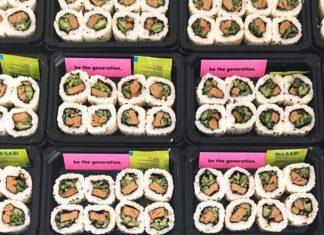 You Can Now Get Vegan Crab Sushi Rolls at Spar