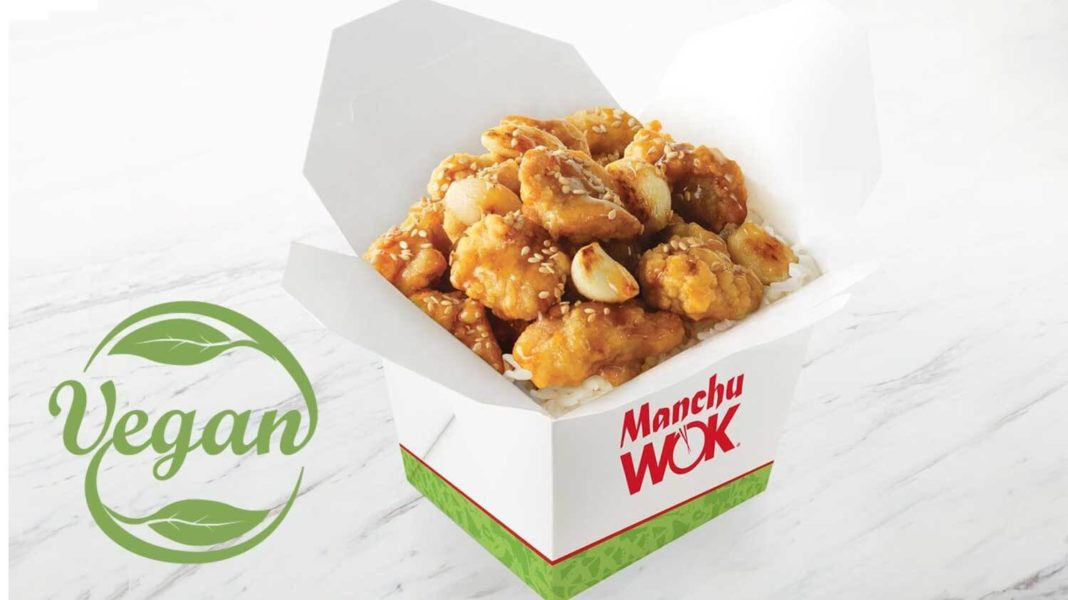 Manchu Wok Just Added Vegan Chicken to Over 200 Locations