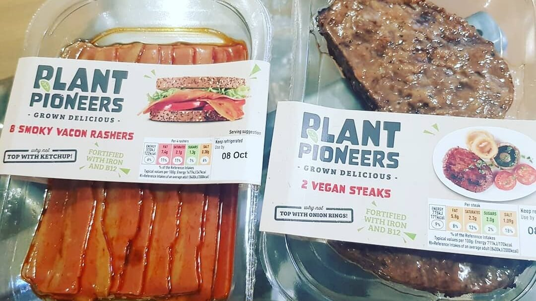 Vegan Steak and Bacon Just Launched At Sainsbury's