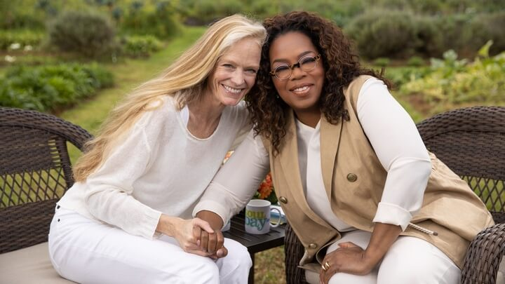 Did Suzy Amis Cameron Just Turn Oprah Vegan?