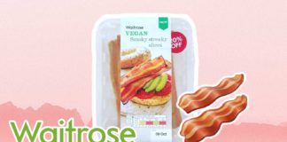 Waitrose Just Launched Vegan Smoky Streaky Bacon Slices