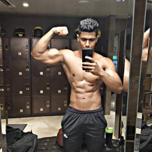 Vegan Bodybuilder Abhishek Thevar Meat Is A Marketing Gimmick Livekindly