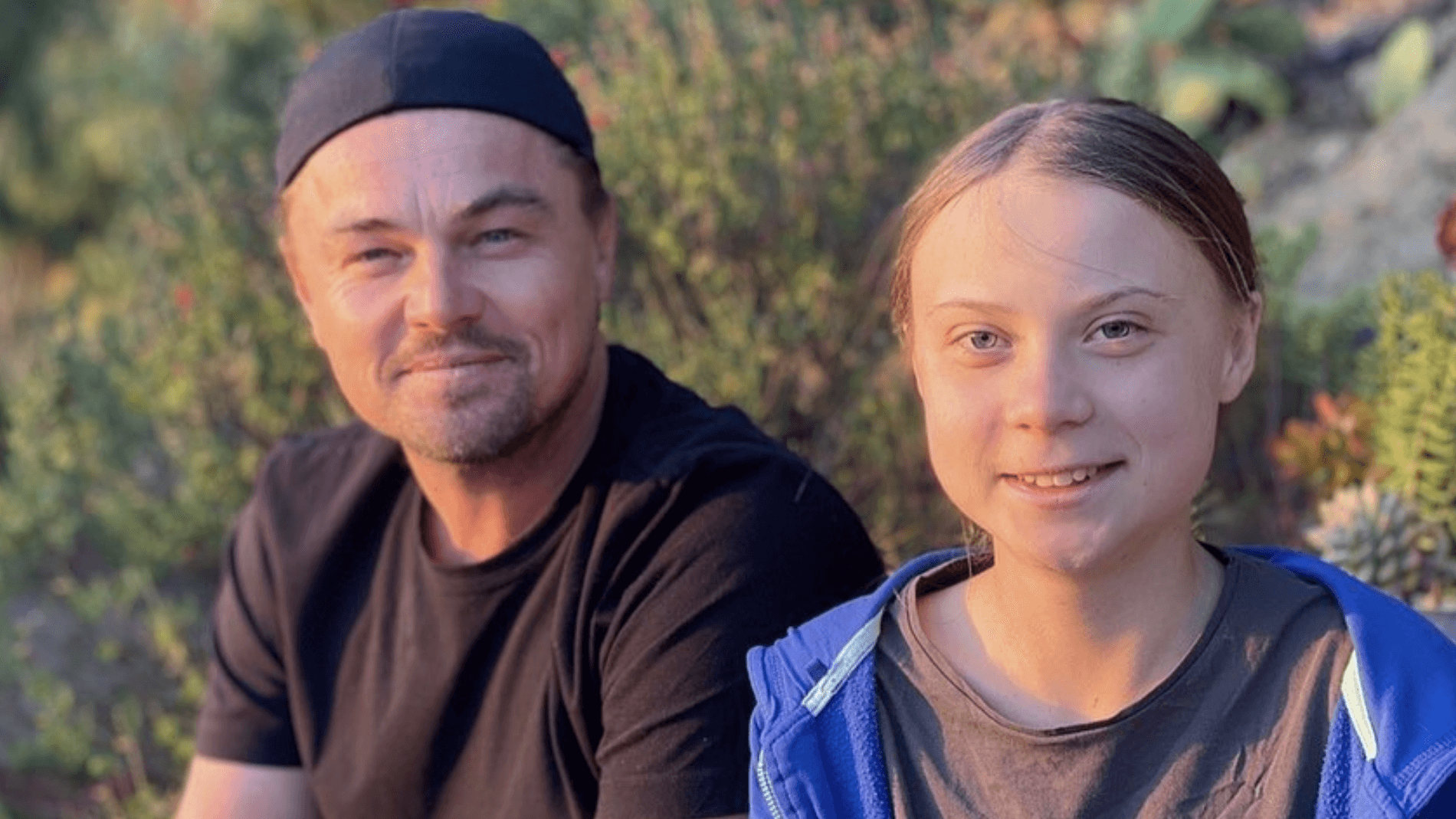 Leonardo DiCaprio and Greta Thunberg Team Up to Stop the Climate Crisis