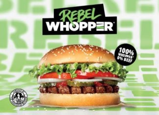 Vegan Rebel Whoppers Just Launched In Ireland