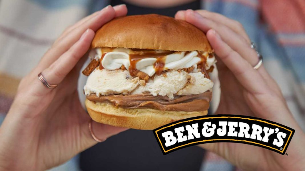 Ben & Jerry's Just Launched a Vegan Ice Cream Burger