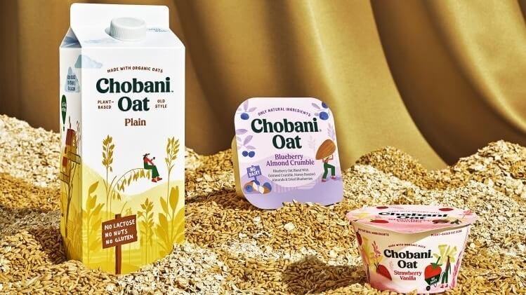 Chobani Just Launched Vegan Oat Milk and Yogurt