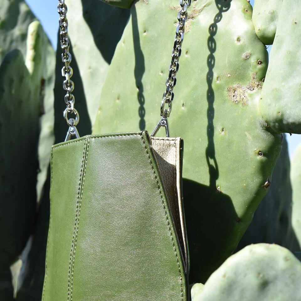 Two Mexican Entrepreneurs Just Created Leather Out of Cactus Leaves