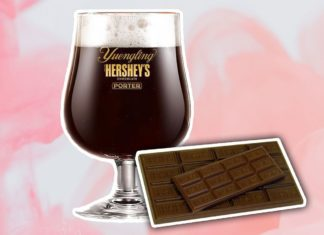 Hershey's and Yuengling Just Partnered on a Vegan Beer