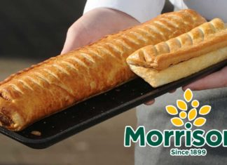 Morrisons Just Launched Giant Footlong Vegan Sausage Rolls