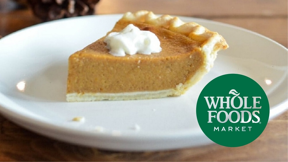 Whole Foods Gives Out Vegan Pumpkin Pies to Americans at Heathrow