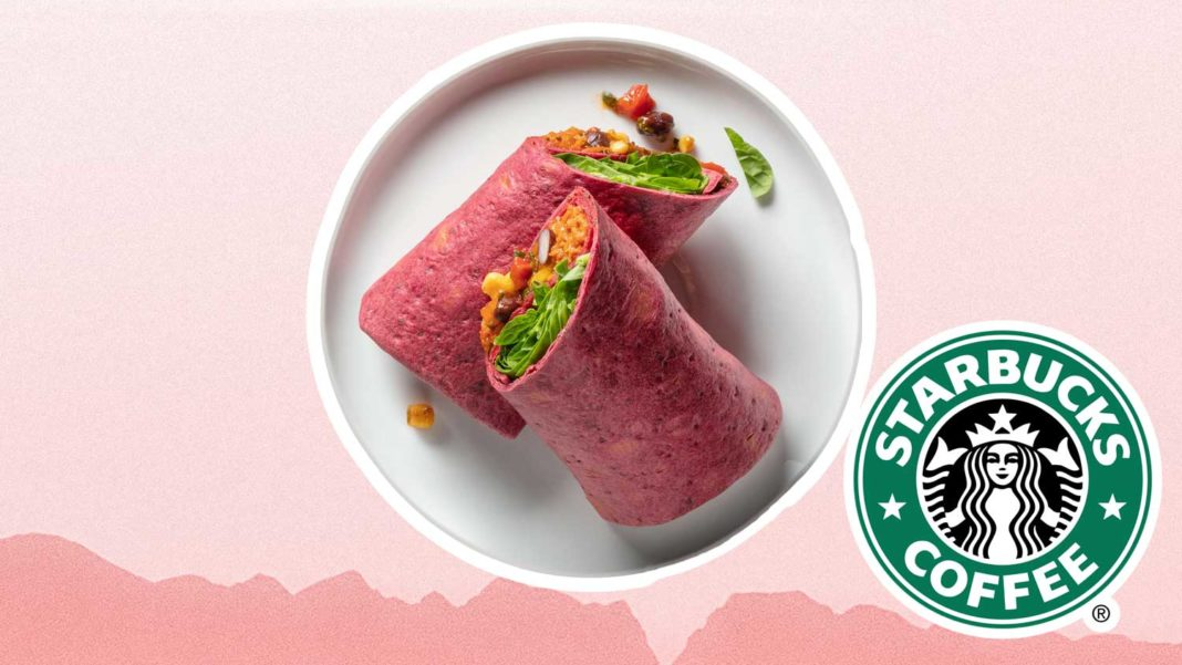 Starbucks Just Launched a Vegan Christmas Wrap
