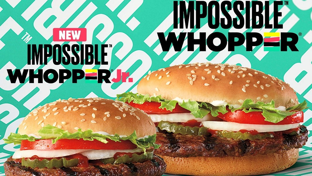 Burger King Adds 3 New Impossible Burgers