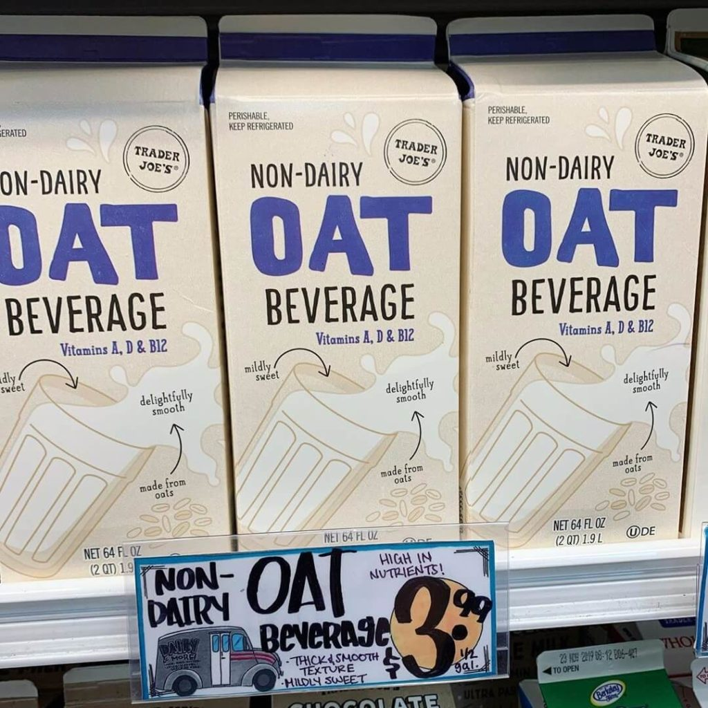 Trader Joe's Just Launched Its Own Oat Milk