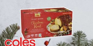 Vegan Christmas Roasts Are Coming to Coles Australia