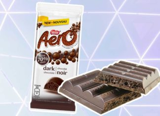 Aero Just Launched Vegan Dark Chocolate Bars