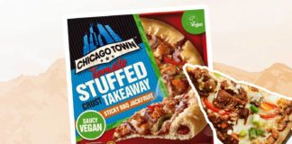 Chicago Town's Vegan Stuffed Crust Pizza Is Launching In Tesco