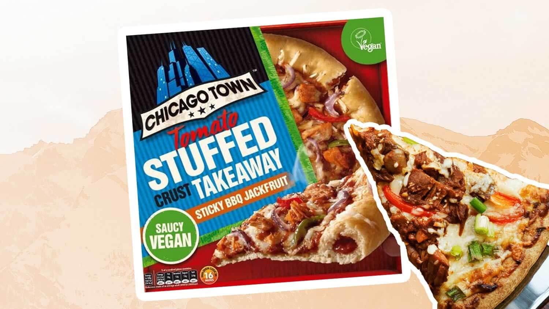 Chicago Town's Vegan Stuffed Crust Pizza Is Launching In Tesco