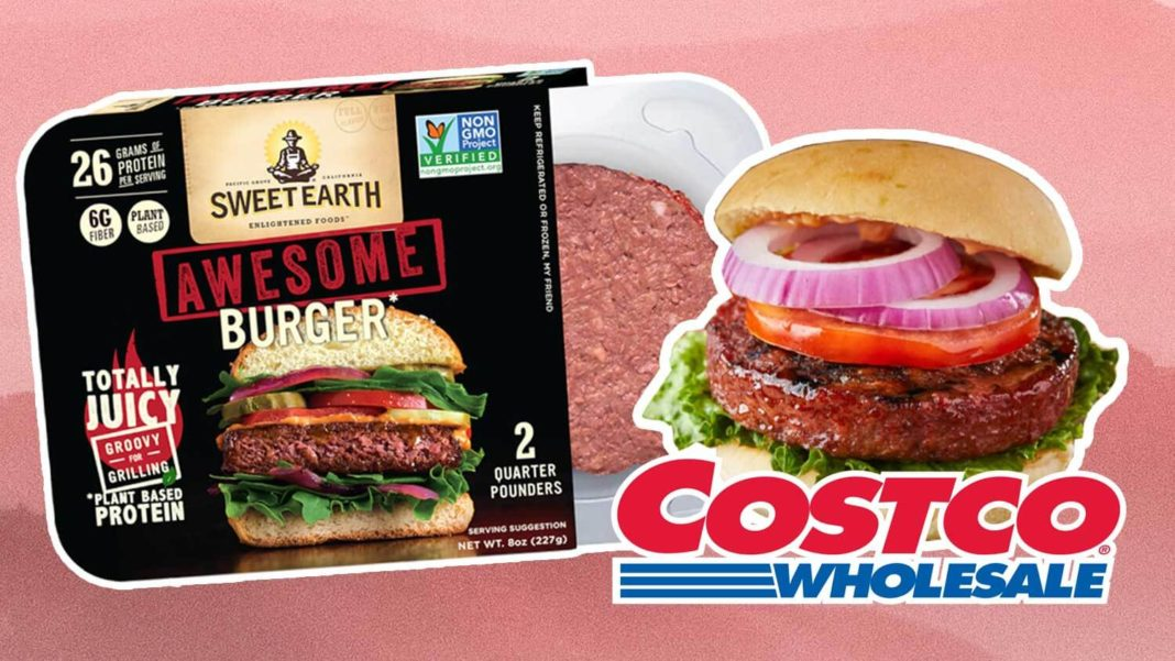 Nestle's Vegan 'Awesome' Burger Just Launched At Costco