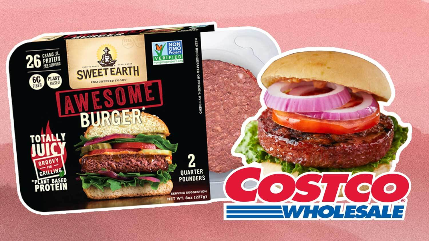 Nestlé's Vegan 'Awesome' Burger Just Launched At Costco