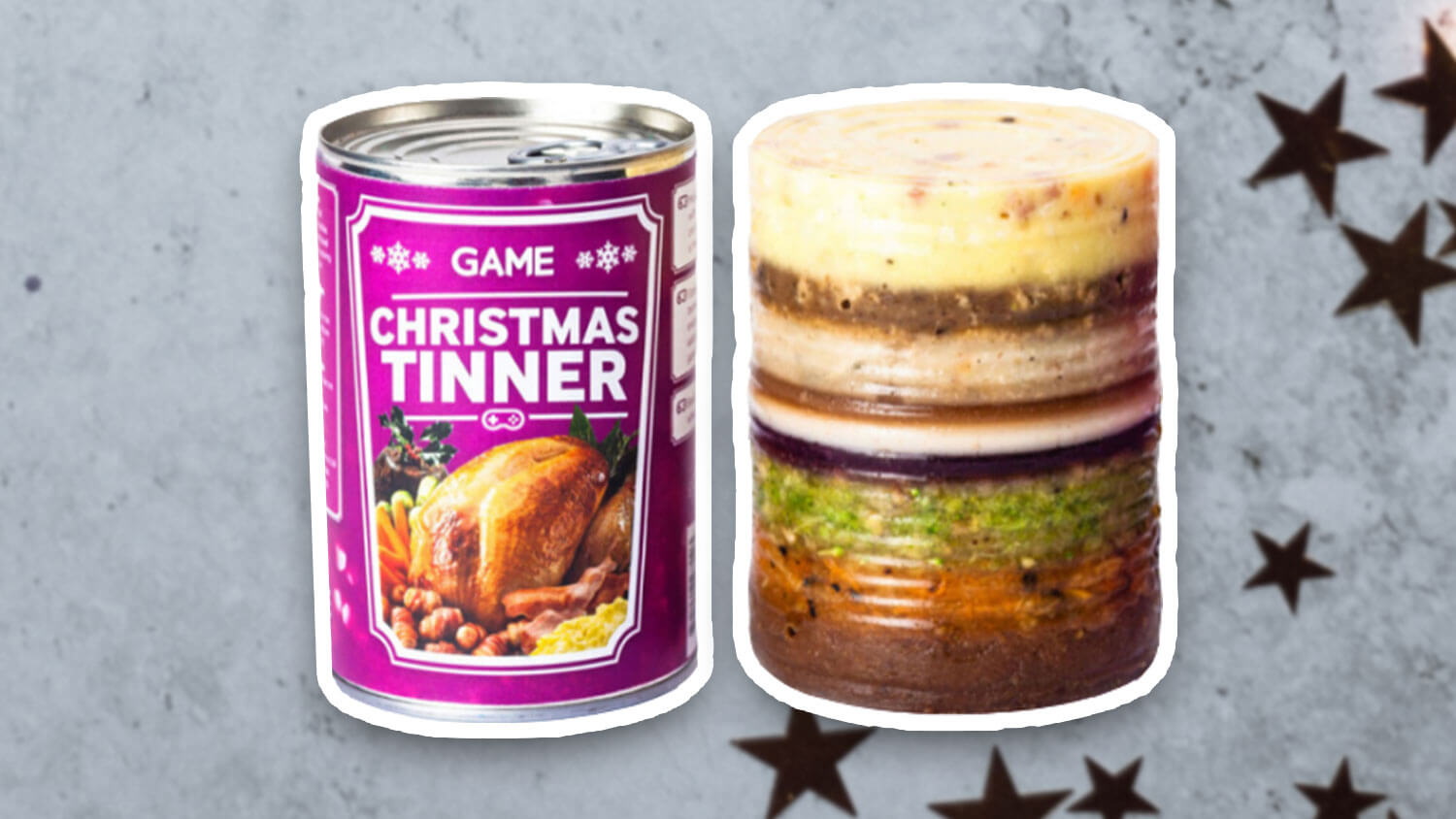 Game's 12-Layer Vegan Christmas Tinner Is the Gift That Keeps On Giving