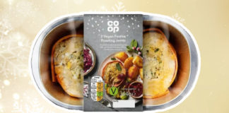 Vegan 'Festive' Roasting Joints Just Launched at Co-Op
