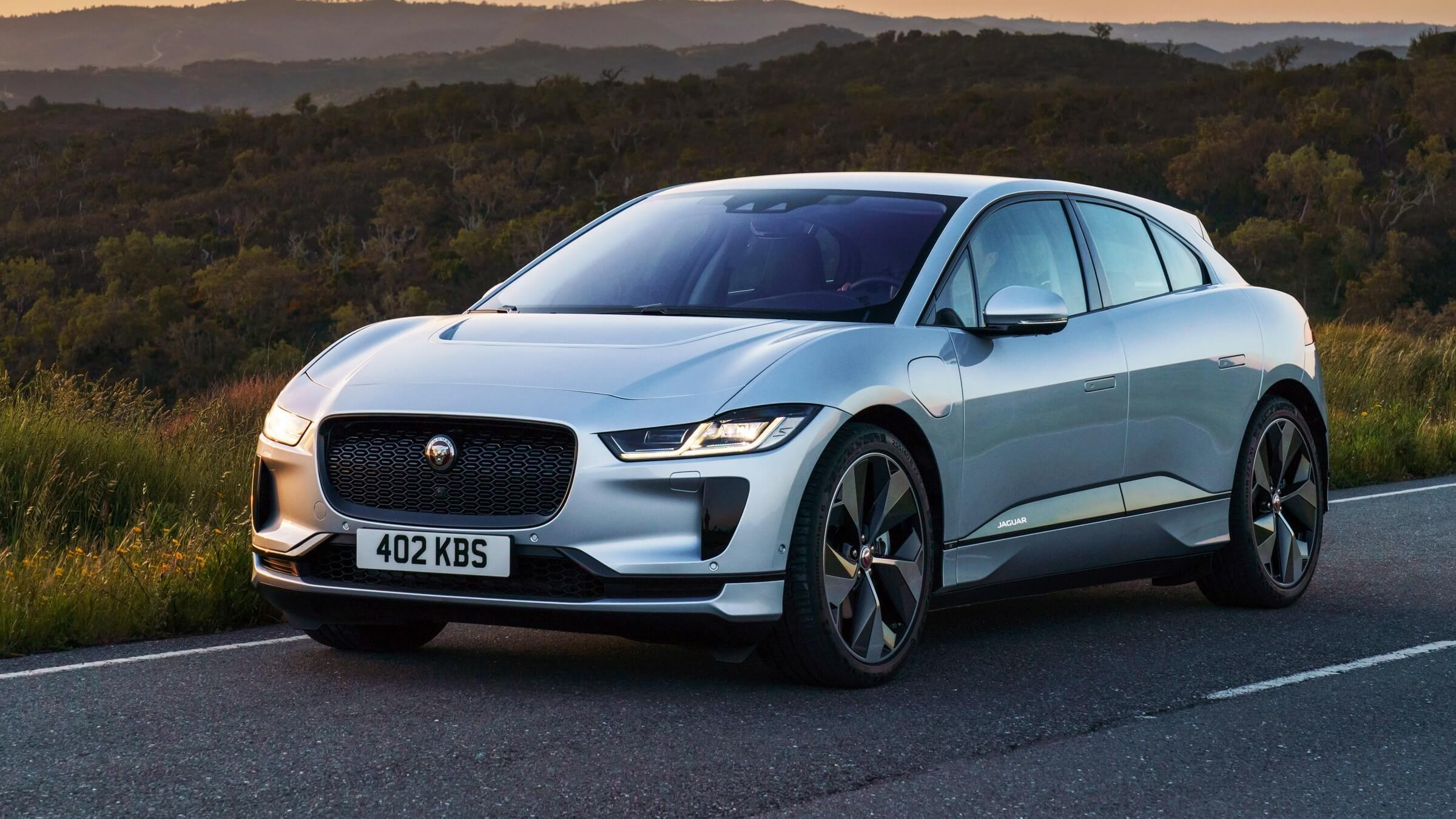 Jaguar Puts Faux Leather Interiors In the New I-PACE EV