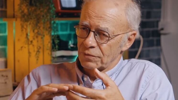 Philosopher Peter Singer on the Ethical Issues of Eating Meat