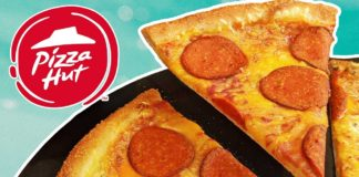 Vegan Pepperoni Now at Pizza Hut UK