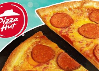 Vegan Pepperoni Now at Pizza Hut UK