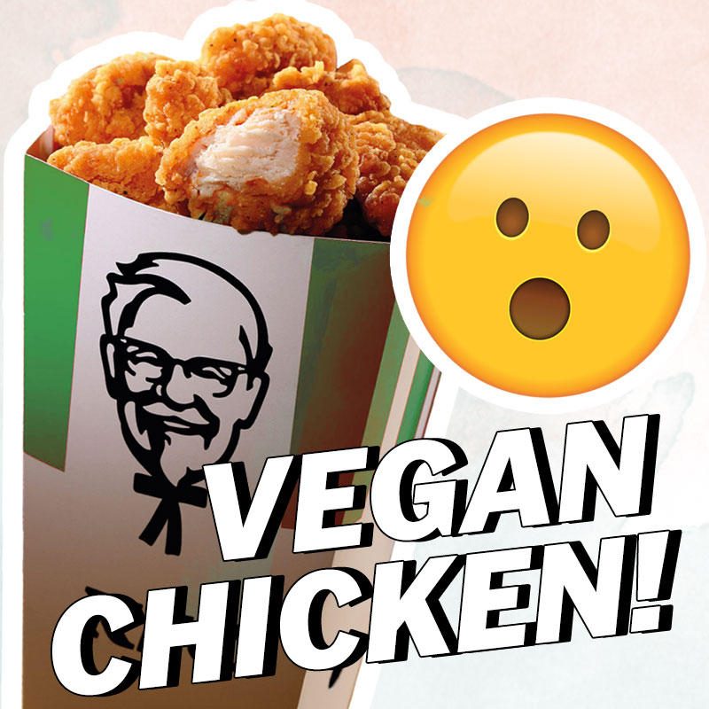 KFC'S Vegan POPCORN CHICKEN