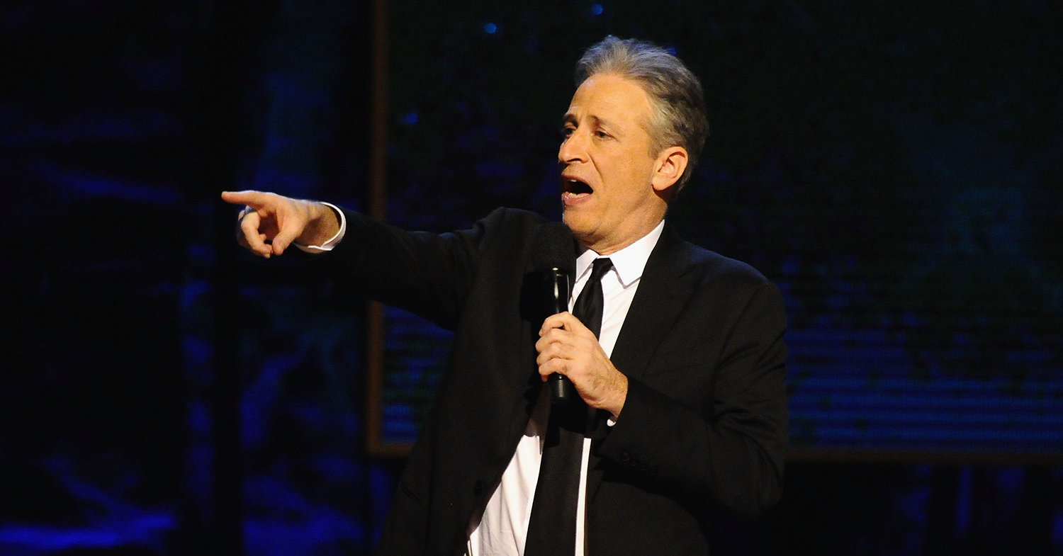 Jon Stewart Is Vegan Because of Pigs With 'Personality'