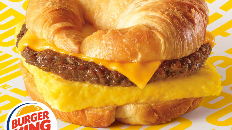 Impossible Sausage Croissan'wiches Are Coming to Burger King