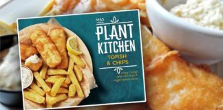 A Vegan Fish and Chip Ready Meal Is Now at M&S