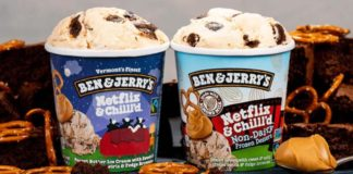 Ben & Jerry's Just Launched a Vegan Netflix and Chill'd Ice Cream Flavor
