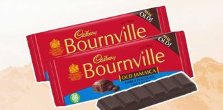 Cadbury Just Turned Its Rum Raisin Bournville Chocolate Vegan