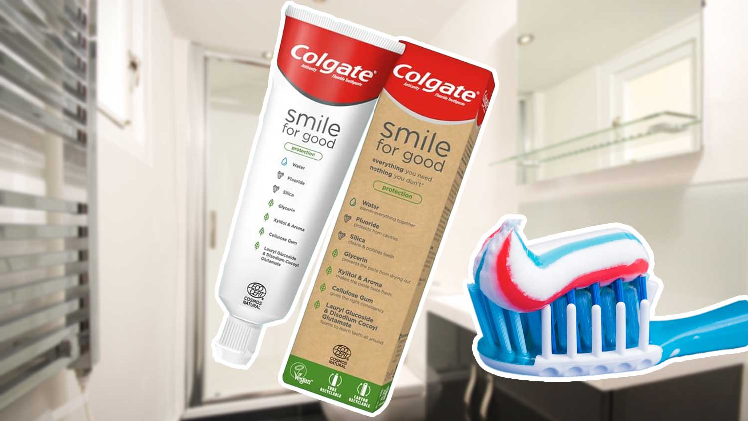 Colgate Just Launched 2 Certified Vegan Toothpastes