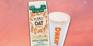 Dunkin's Launching Vegan Oat Milk Lattes In All Stores