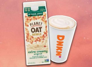 Oat Milk Lattes Have Finally Arrived at Dunkin'