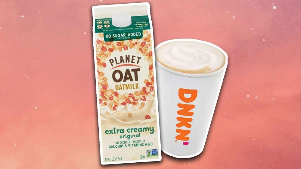 Oat Milk Lattes Have Finally Arrived at Dunkin'