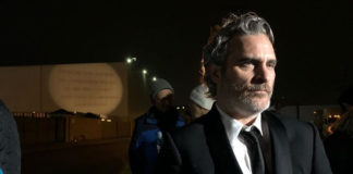 Joaquin Phoenix Wins SAG Award, Heads Straight to Pig Vigil