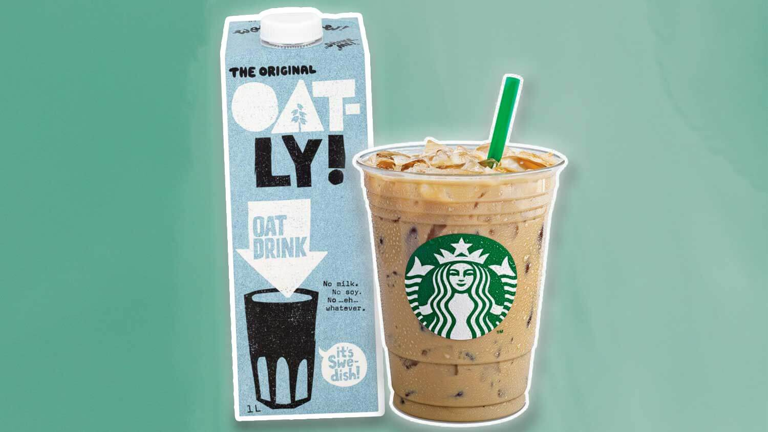 Starbucks Just Launched Vegan Oat Milk In 1,300 Locations