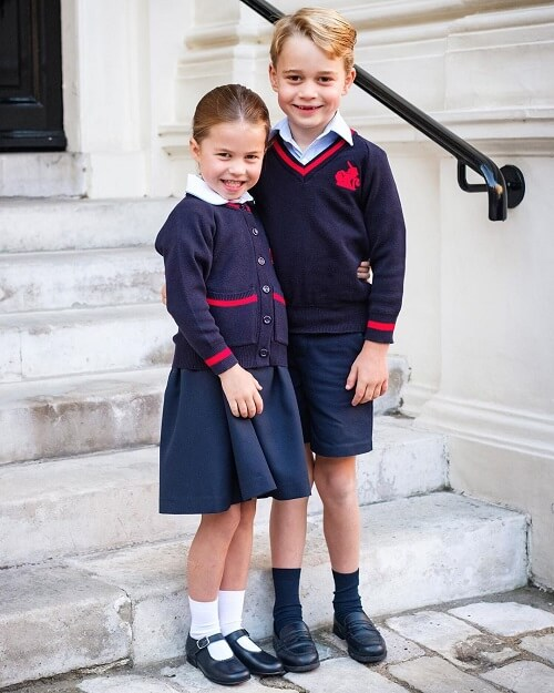 Prince George and Princess Charlotte Go Meatless Every Friday