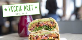 75% of Veggie Pret's New Menu Is Now Vegan