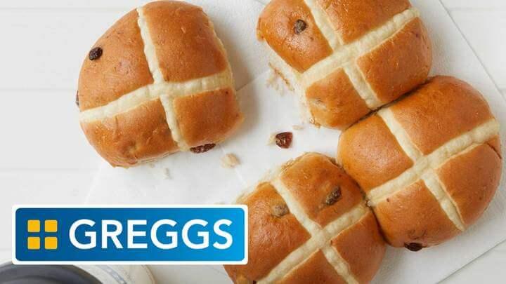Greggs Expands Its Vegan Menu With Hot Cross Buns