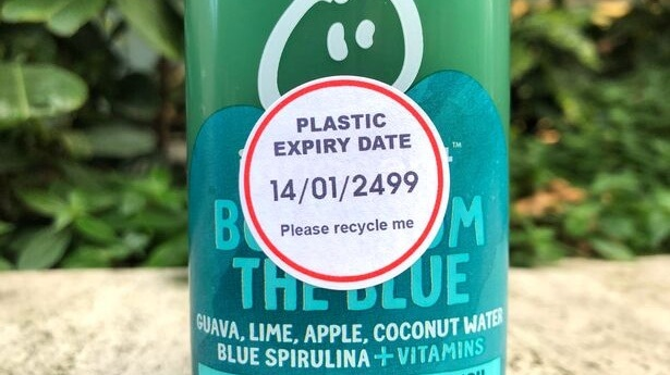 New Expiry Labels Expose the 400 Years It Takes Plastic to Decompose